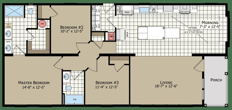 Model 772 Floorplan